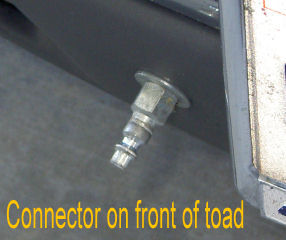 Toad connector